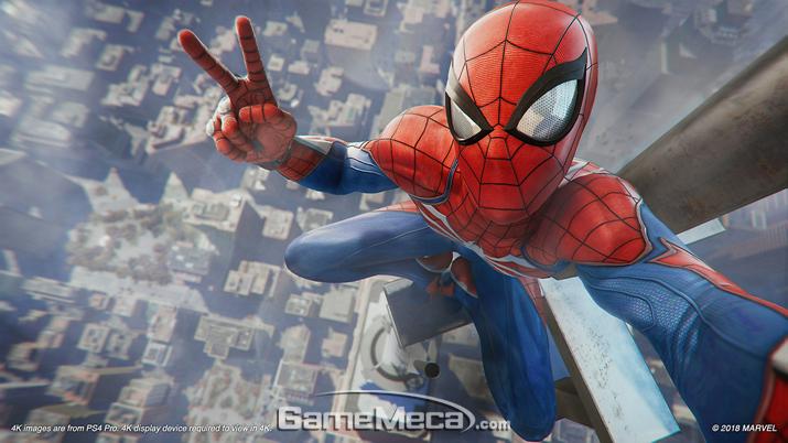 스파이더맨이 게임으로 모습을 드러낸다 (사진출처: 플레이스테이션 공식 홈페이지)