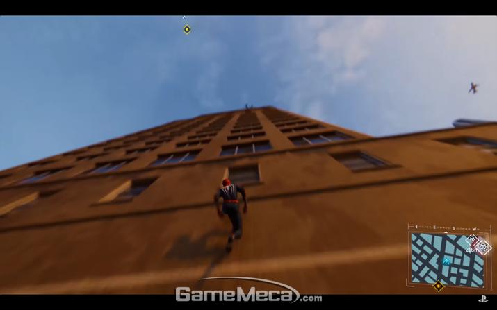 암살단도 벽은 못 걷는다 (사진출처: 플레이스테이션 공식 유튜브 영상 갈무리)