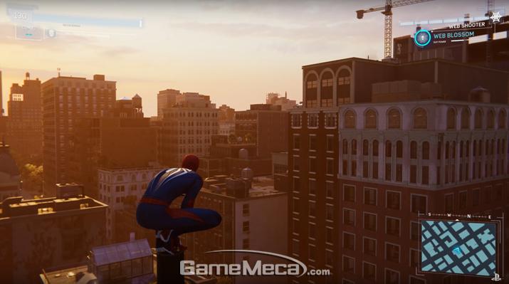 어마어마한 대도시 뉴욕 (사진출처: 플레이스테이션 공식 유튜브 영상 갈무리)