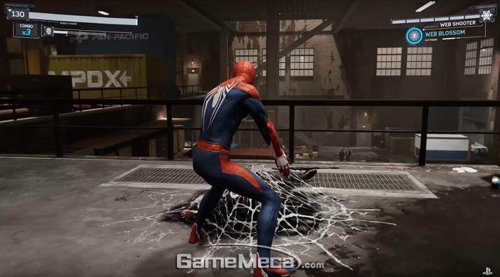 적의 움직임을 봉인한다 (사진출처: 플레이스테이션 공식 유튜브 영상 갈무리)