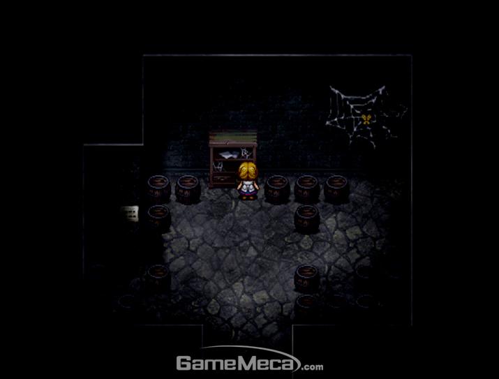 마녀의집, 마녀, 공포, 호러, 쯔꾸르, RPG메이커, RPG