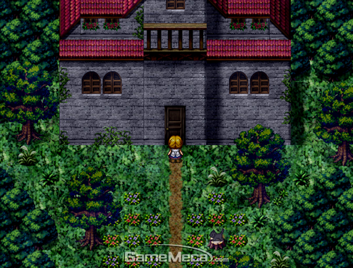 마녀의집, 마녀, 쯔꾸르, RPG메이커, RPG, 공포, 호러
