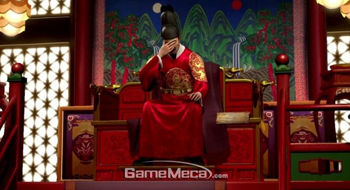 대왕님의 연기를 보고 있으면 저도 머리가 아파옵니다 (사진출처: '문명' 팬 위키)