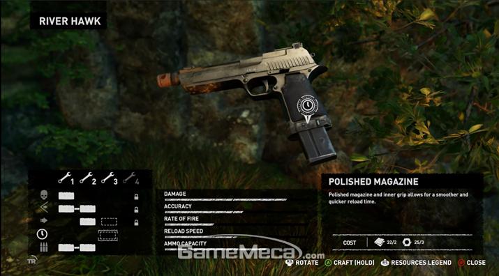 이 총기가 익숙하다면 당신은 툼 레이더의 진정한 팬이자 영화 광이다 (사진: 게임메카 촬영)