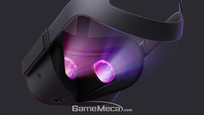 오큘러스 리프트보다 선명한 해상도로 VR체험이 가능하다 (사진출처: 오큘러스 공식 프레스킷)