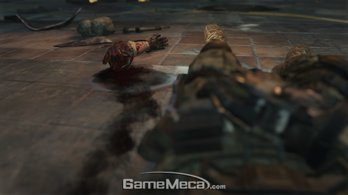 '콜 오브 듀티: 블랙 옵스 3' 주인공은 시작하자마자 사지가 몸과 작별하는 위기에 놓인다 (사진출처: 게임 내 영상 갈무리)
