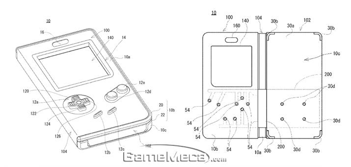 닌텐도가 받은 게임보이형 스마트폰 케이스 특허 (사진출처: 미국 특허청 uspto)