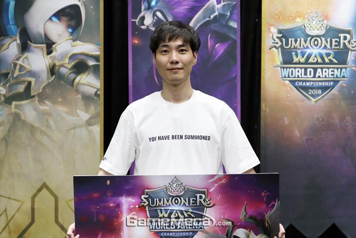 'SWC 2018' 한국 대표 빛대 (사진제공: 컴투스)