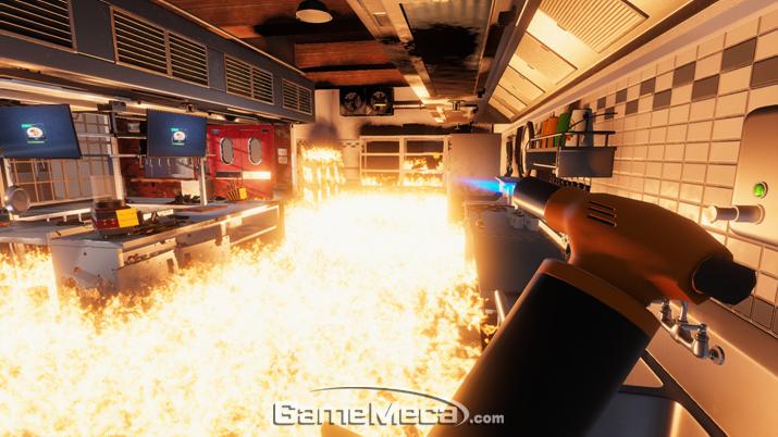 요리 시뮬레이터지만 왠지 요리는 뒷전일 것 같은 '쿠킹 시뮬레이터' (사진출처: 스팀 제품 웹페이지)
