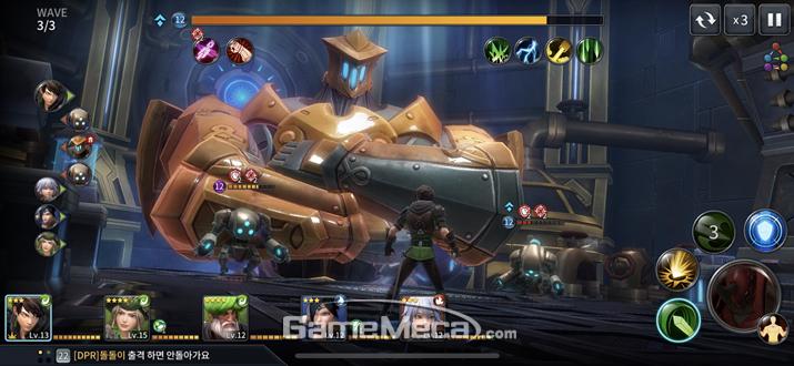 보스전이 연상되는 마장기와의 전투 (사진: 게임메카 촬영)
