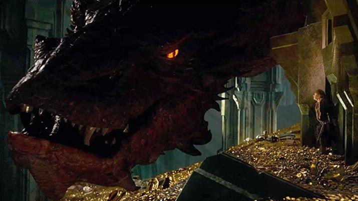 '호빗: 스마우그의 폐허' 중 한 장면 (사진출처: 네이버 영화)