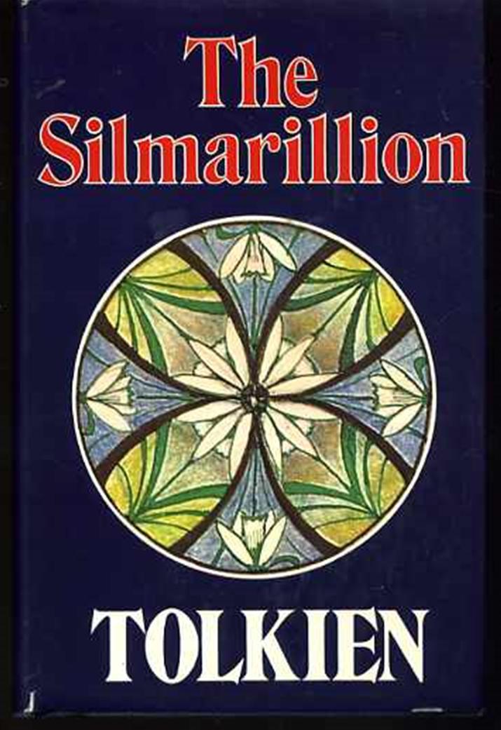 이른바 톨킨 역사서라 불리는 '실마릴리온' 초판 (사진출처: 위키피디아)