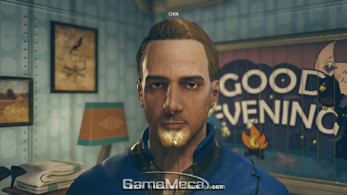 캐릭터 제작을 포함한 기본 인터페이스는 '폴아웃 4'와 똑같다 (사진: 게임메카 촬영)
