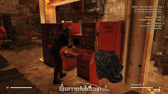 PvP는 5레벨 이후, 두 플레이어가 서로 공격한 시점에만 활성화된다 (사진: 게임메카 촬영)