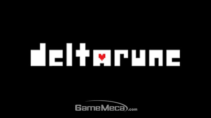 '델타룬' 대표 이미지 (사진: 게임메카 촬영)