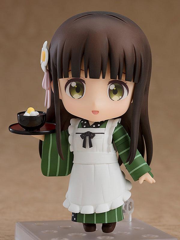 다른 캐릭터들과는 달리 일본 전통 화과자집 복장을 하고 있는 치야 (사진출처: 굿스마일컴퍼니 홈페이지)