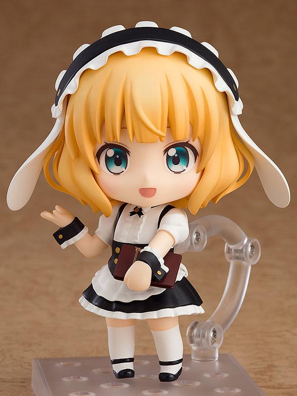 귀여운 캐릭터가 넨도로이드 제품으로 나오니 더 귀엽다. 카페 제복을 입고 접객을 하는 모습의 샤로 (사진출처: 굿스마일컴퍼니 홈페이지)