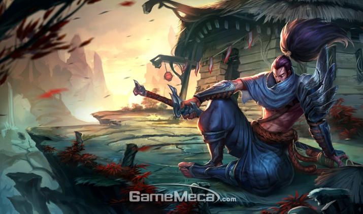 과학자 '야스오'의 늠름한 자태를 보라 (사진출처: 게임 공식 홈페이지)