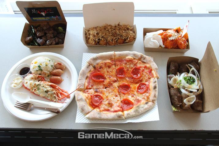 지스타 2018도 식후경이다 (사진: 게임메카 촬영)
