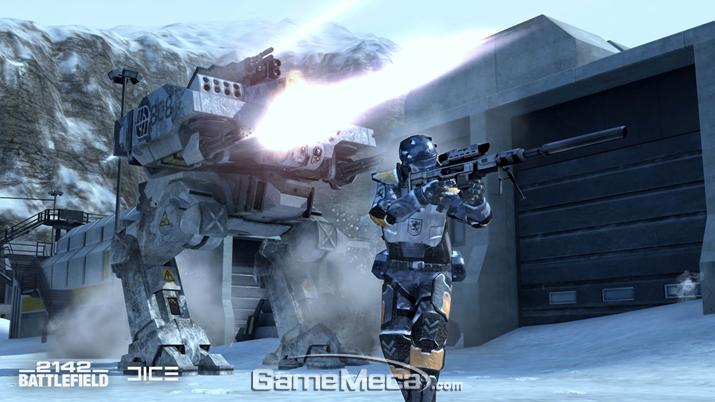 '배틀필드 2142'는 흥미로운 설정을 내세웠지만, 게임 내 스토리텔링은 전무했다 (사진출처: EA 공식 홈페이지)