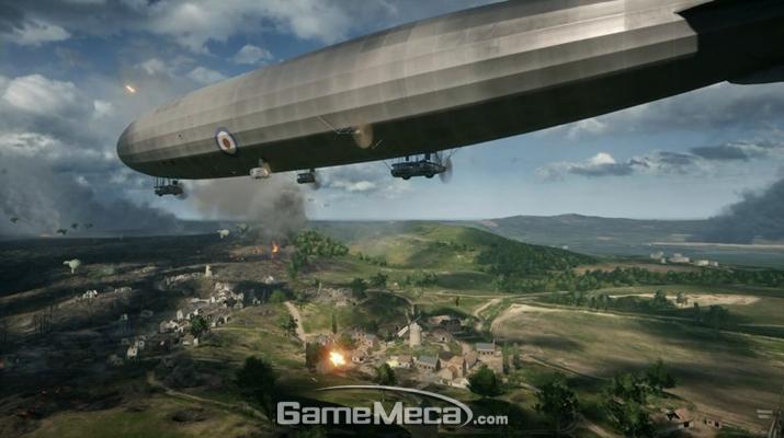 '베히모스' 중 하나인 거대 비행선 (사진출처: EA 공식 홈페이지)