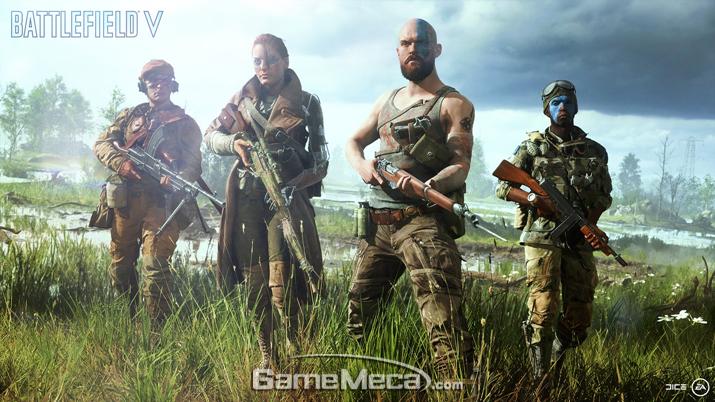 팬들의 거센 반발을 불러 일으킨 '배틀필드 5' 초반 공개 이미지 (사진출처: EA 공식 홈페이지)