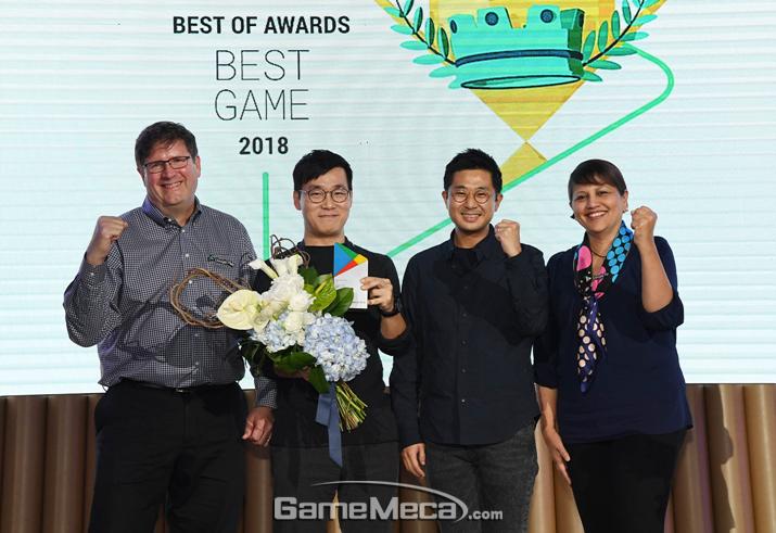 구글플레이 2018 베스트 게임상을 받은 펄어비스 '검은사막 모바일' (사진제공: 구글플레이)