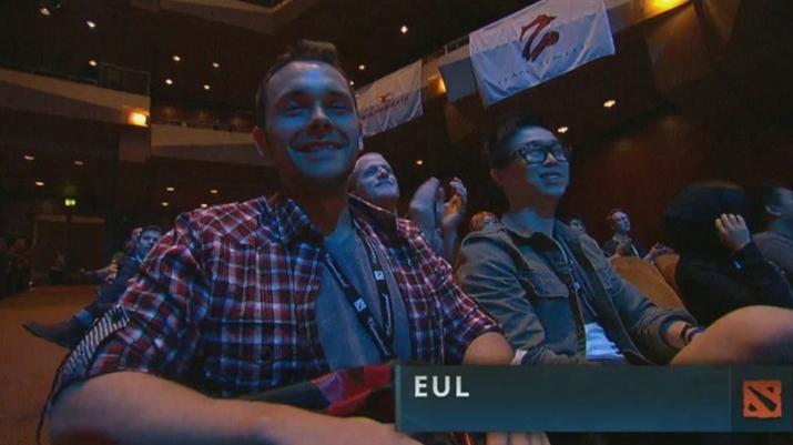 2012년 '도타 2' 인터내셔널 행사장에 모습을 드러낸 'Eul' (사진출처: DotA 2 Wiki)