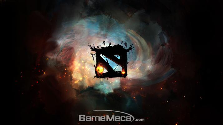 우주적 규모 이야기로 시작하는 '도타 2' (사진출처: '도타 2' 공식 홈페이지)
