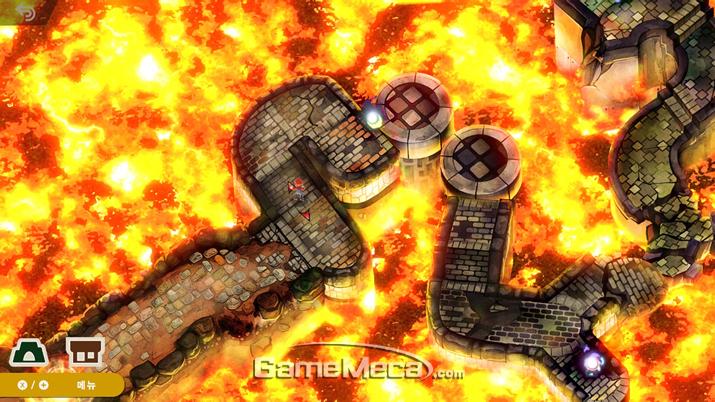맵 내에도 퍼즐이나 숨겨진 요소가 있다 (사진: 게임메카 촬영)