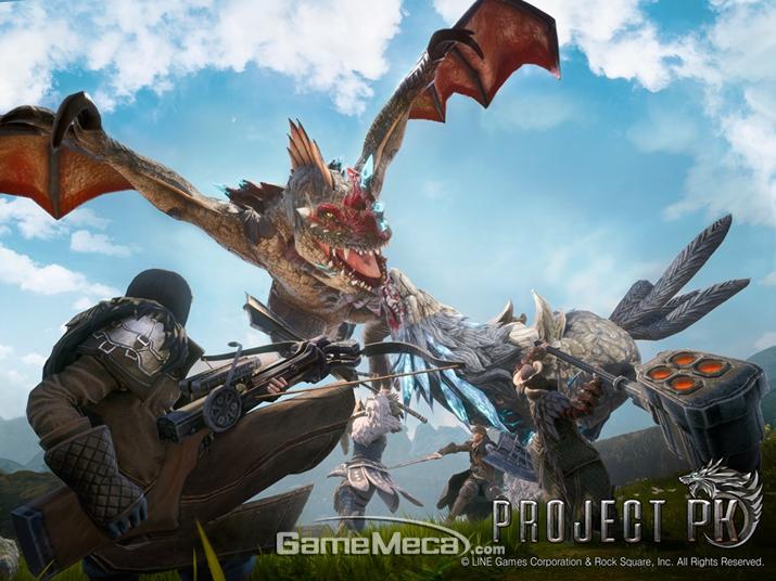 '프로젝트 PK' 대표 이미지 (사진제공: 라인게임즈)