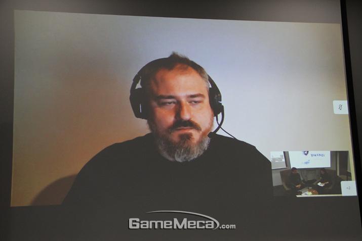 데이브 커드는 소위 말하는 짤파밍을 선호한다고 밝혔다 (사진: 게임메카 촬영)