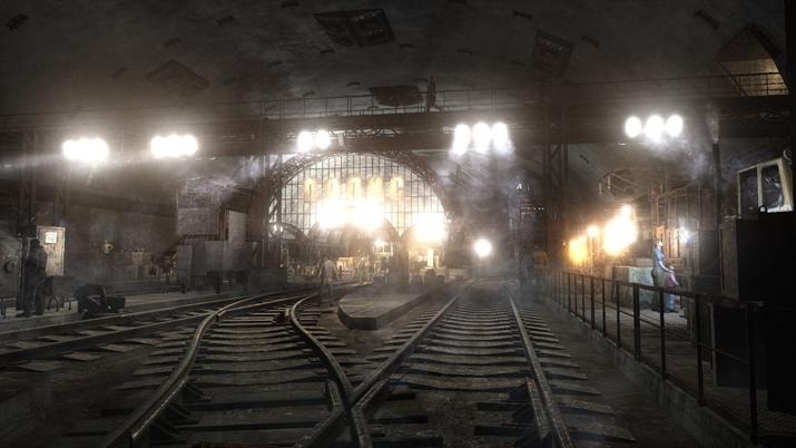 '메트로 유니버스' 이야기는 대부분 폐쇄된 지하철역 내부에서 진행된다 (사진출처: 메트로 위키)