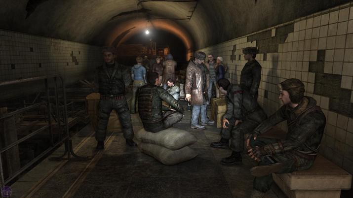 어둡고 구불거리는 모스크바 지하철역을 무대로 한 '메트로 유니버스' (사진출처: 메트로 위키)