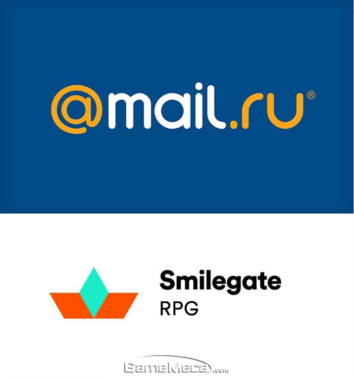 '로스트아크' 러시아 계약을 체결한 @mail.ru와 스마일게이트 (사진제공: 스마일게이트)