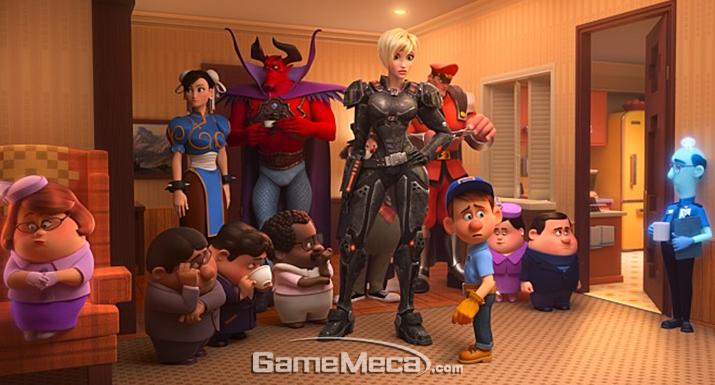 게임 캐릭터가 주인공으로 등장하는 '주먹왕 랄프 2: 인터넷 속으로'