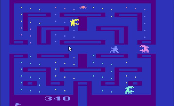 폭스 게임스에서 발매한 아타리 2600용 '에이리언' (사진출처: Den of Geeks)