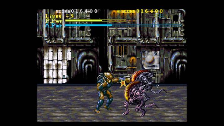 1993년 발매된 게임 '에이리언 vs. 프레데터' (사진출처: Den of Geeks)