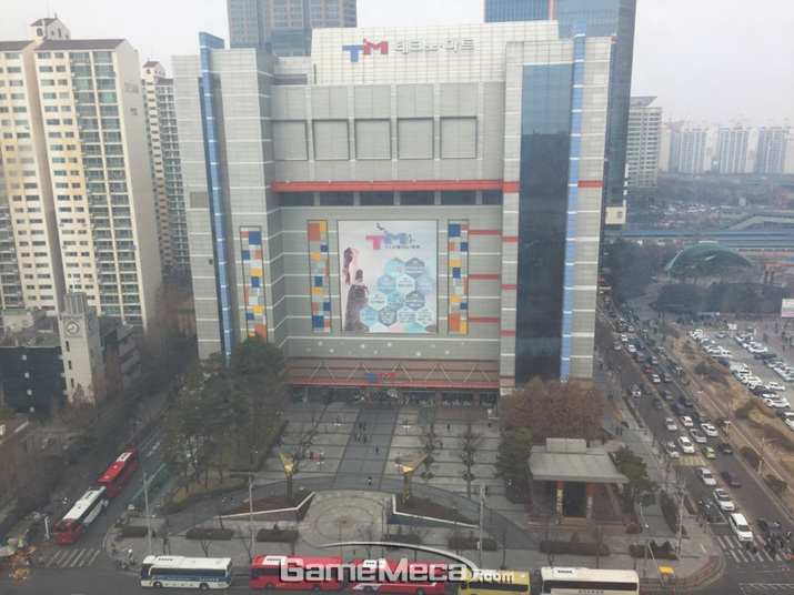'제 15회 레트로장터'가 열린 신도림 테크노마트 (사진: 게임메카 촬영)
