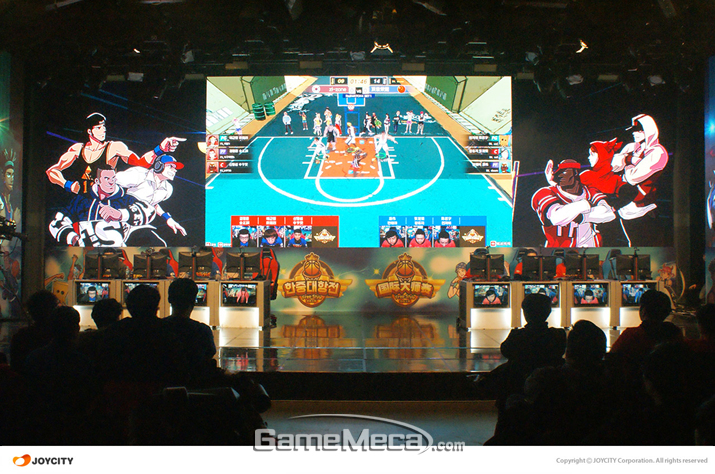 한국팀과 중국팀이 경기를 펼치고 있다 (사진제공: 조이시티)