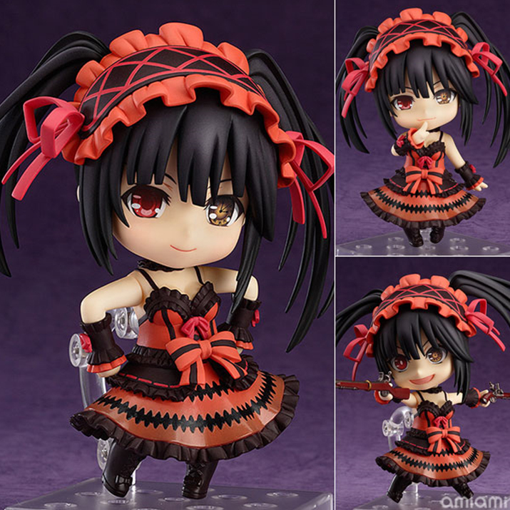 넨도로이드 쿠루미, 원체 귀여운 캐릭터다 보니 넨도화 되어도 귀여움이 유지된다. 물론 쿠루미의 특허인 광기 표정도 파츠로 구성되어 있다. 가격은 4,200엔(세금포함) (사진출처: 아미아미 홈페이지)