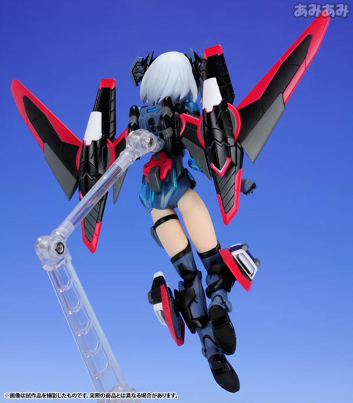아머걸 프로젝트 답게 풀셋의 느낌이 나는 장비의 구성이다. 높이는 140mm이며 가격은 7,344엔(세금포함) (사진출처: 아미아미 홈페이지)