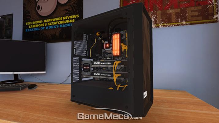 'PC 빌딩 시뮬레이터' 스크린샷 (사진출처: 스팀 공식 페이지)