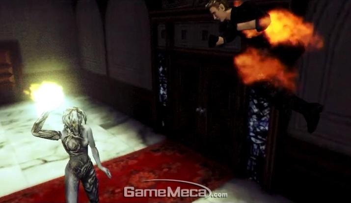 초능력 돌연변이들이 전면에 나서기 시작한 '바이오하자드: 코드 베로니카' (사진출처: Resident Evil Database)