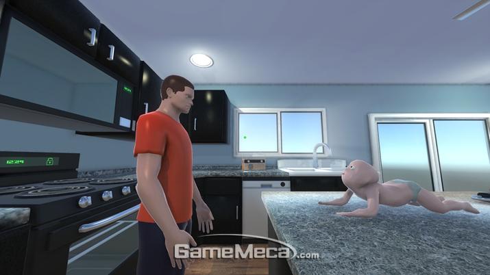 이건 명백히 아버지와 아이가 대결하는 게임이다 (사진출처: 게임 공식 홈페이지_)