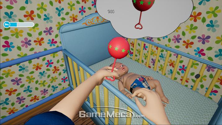 육아 때문에 배고파서 게임 오버는 좀 너무했다 (사진출처: 게임 공식 홈페이지)