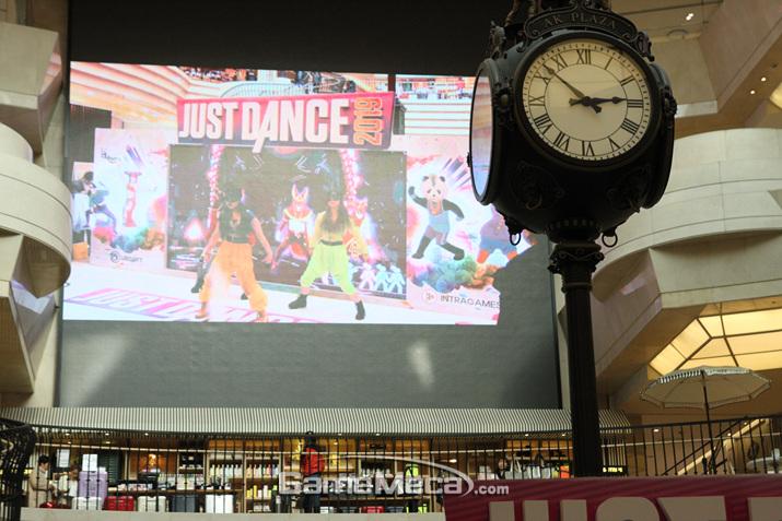 '저스트 댄스 2019' 체험회는 10일에도 계속될 예정이다 (사진: 게임메카 촬영)