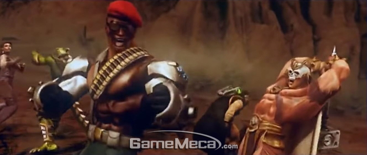 역대 캐릭터가 총출동해 서로 죽고 죽은 '모탈 컴뱃: 아마게돈' (사진: 게임 내 영상 갈무리)