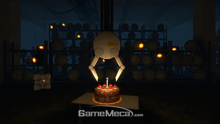 세상에서 가장 위험한 케이크가 있다면 이 케이크일 것이다 (사진출처: 게임 공식 홈페이지)
