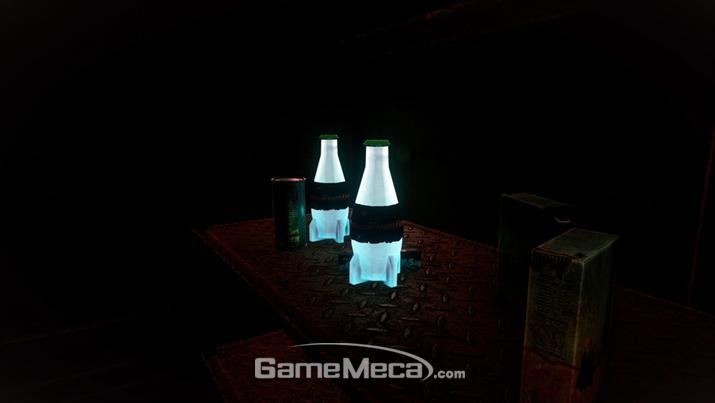 뭘 어떻게 하면 액체가 스스로 빛을 내는 건지 궁금하다 (사진출처: 게임 공식 홈페이지)